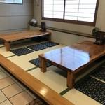 寿司竹寅 - 小上がり座敷席(2018.7.30)