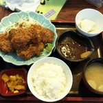ダイニングステージ 佐海屋 - ヘレカツ定食