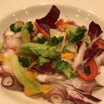 バル OTTO - 地野菜もいっぱいで彩りも綺麗です(2018.7.30)