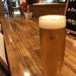 バル OTTO - やっぱり、ビールも飲みたくなりました♪(2018.7.30)