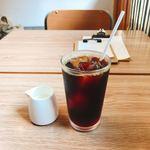 メガネ コーヒー - ドリンク写真: