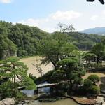 京亭 - 台風12号で増水した玉淀