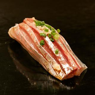 魚の旨さを真摯に伝える、想いの込められた珠玉の一貫