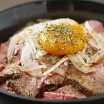 自家製ローストビーフとお酒のお店 ニクニク - 料理写真:ローストビーフ丼