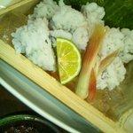 瓦蔵 - 料理写真:鱧湯引き
