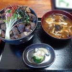 90071018 - 熊肉丼(1800円)_2018-07-16