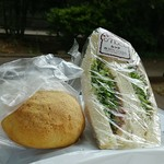 ベーカリームック - サンドイッチときなこ揚げパンです