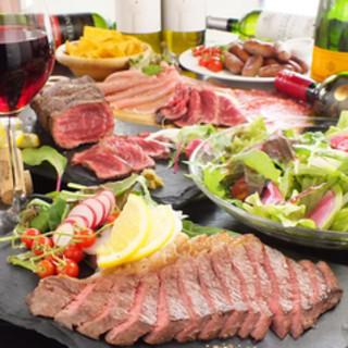 肉バル-Medium-◆8品3280円⇒3時間飲み放題付