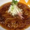 拳10ラーメン - 料理写真:(今月の限定)焼きアゴ煮干し冷しかけそば(醤油) 750円 昼/夜 各10食限定