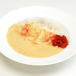 河鹿荘 - 料理写真:白いカレー!美山牛乳カレー