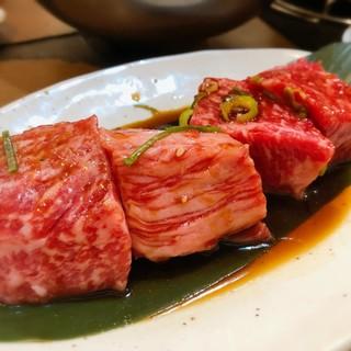 炭火焼肉 ぐら - 料理写真:牛のぐらカルビ 1,780円