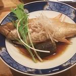 すし居酒屋 日本海 - のどぐろの煮付