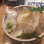 すし居酒屋 日本海 - のどぐろ姿造り980円