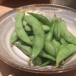 すし居酒屋 日本海 - 枝豆