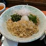 鴨屋 そば香 - たぬき蕎麦