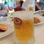 洋食勝井 - 生ビール。