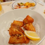 洋食勝井 - ◯◯の唐揚げ。お魚の名前不明。