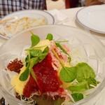 洋食勝井 - ズワイガニのサラダ