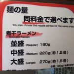 90078439 - 麺増量無料