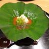 Ginzakudou - 料理写真:生ゆば じゅんさいのトマト仕上げ