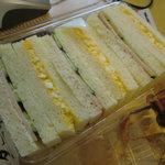 9008142 - サンドウィッチはイマイチ