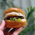 雑穀パンの店ひね - 雑穀ハンバーガー
