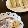 カフェ ド シュシュ - 料理写真:サンドイッチとフレンチトースト(2018.08.現在)