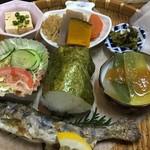 千穂の家 - 料理写真:高千穂峡定食 1500円