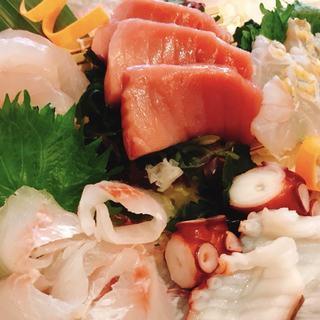 【地魚料理】石垣産の島魚を使用したお刺身♪