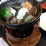 彩かさね - 小鍋 鰆と浅利の塩ちゃんこ鍋