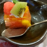 彩かさね - マンゴーとグレープフルーツのワインゼリー