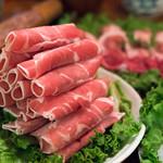 餃子坊 豚八戒 - 2018.7 火鍋のラム肉
