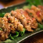 餃子坊 豚八戒 - 2018.7 油淋鶏(650円)
