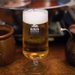 餃子坊 豚八戒 - 2018.7 キリン生ビール(500円)一番搾り