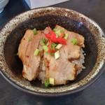 風の味 麺や 勝 - ミニちゃーしゅー丼(平日ランチ限定)