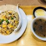 90089959 - 焼きめし(スープ付き)600円