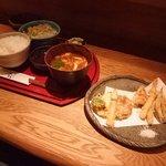 天まる - 天ぷら定食1000円