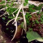 三軒茶屋 庄助 - 茄子の肉味噌550円