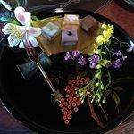 京都生ショコラ オーガニックティーハウス - ドリンクとチョコレートセット(1000円)