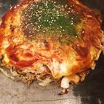 きかんしゃ - 料理写真:広島風お好み焼き スペシャル