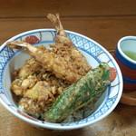 天重 - 天丼(800円)
