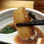 中華そば 満鶏軒 - 焼き葱