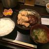 御嘉家 - 料理写真:本日のおすすめ定食 ハンバーグ テンカラ5個付き