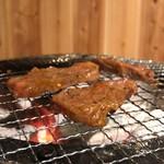 炭火焼肉 とさや - さがり(ハラミ)
