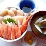 ココ・カピウ - ほたて&カニ丼