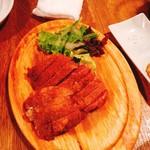 90097952 - 牛肉のレアカツレツ@600円