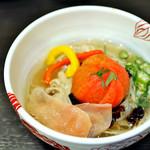 麺処 あす花 - '18.07[限定]冷やし中華風和え麺