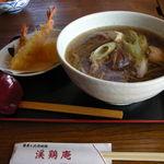 渓鶏庵 - 料理写真:鳥そば