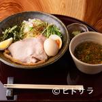 紀州麺処 誉 - 和歌山ラーメンを味わいたいときはこちら!濃厚な漬け汁&中太麺で食べ応えあり『豚骨しょう油つけ麺』