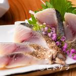 紀州麺処 誉 - 炙りしめ鯖